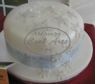 1 Tier Christmas Cake 2