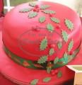 1 Tier Christmas Cake