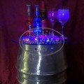 Blue Drinks Table